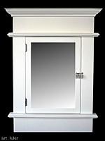 Amazon.com: Zenith TH22WW White Decorative Medicine Cabinet 2