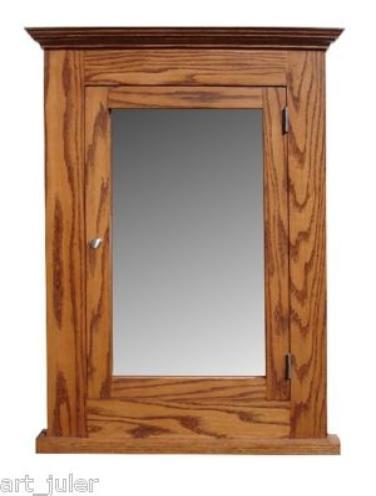 Oak Medicine Cabinet