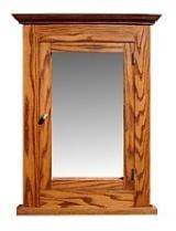 MasterBath 20 in. Recessed Medicine Cabinet in Medium Oak SC20SD